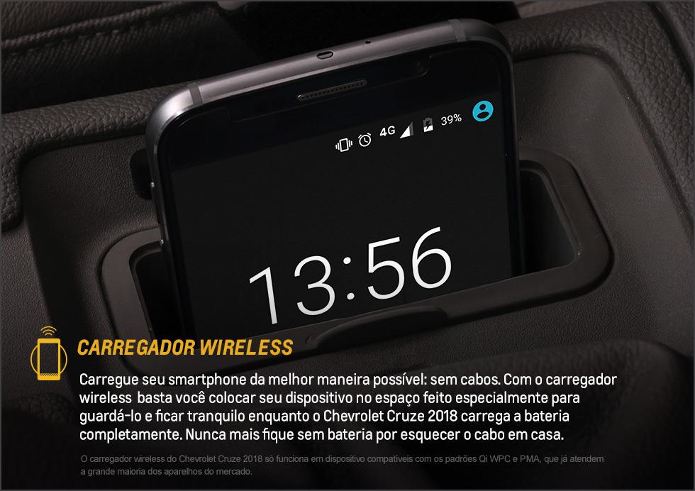Cruze - Carregador Wireless - Dig Chevrolet
